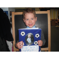 Reception children made personal time line books