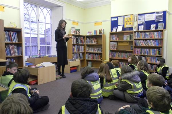 Our visit to Deeping Library