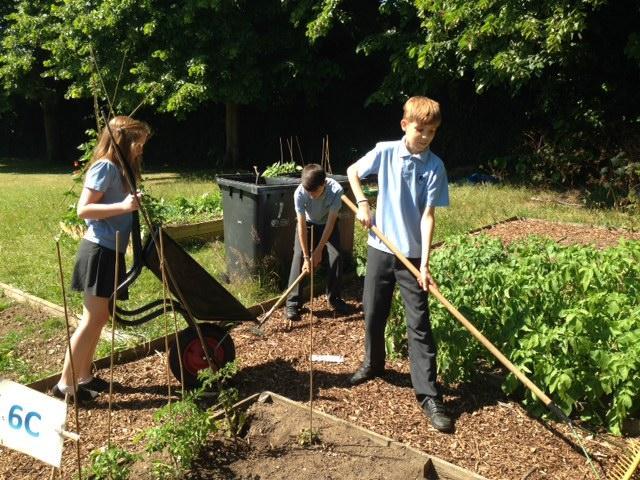 Gardening can be hard work!