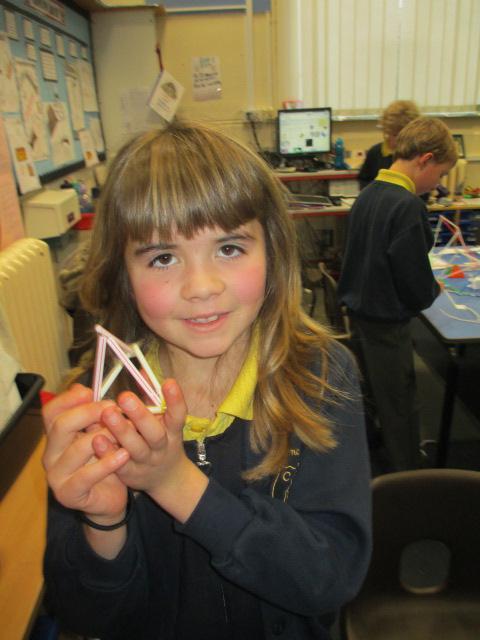 A Triangular based pryamid