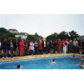 Opening of the swimming pool, 1993
