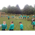 Our immersion day in the Outdoor Classroom
