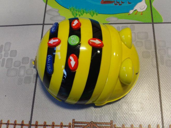 BeeBot controls.