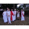 Dressed in Roman Costume
