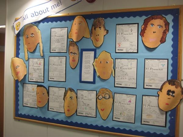 All About Me - Year 1 and 2