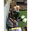 We learnt how to plant flowers and herbs.