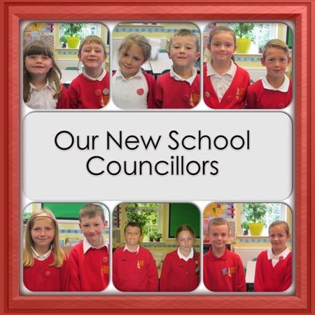 Our School Councillors 2014/2015