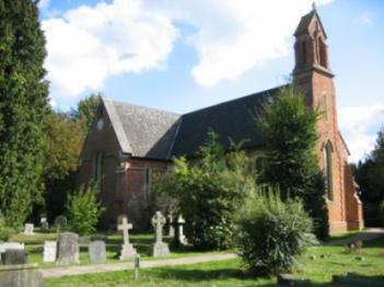 pic of christ church crookham