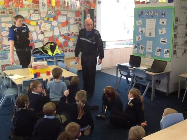 A big thank you to the PCSOs from everyone