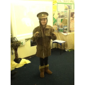 What was it like to wear a WW1 uniform?