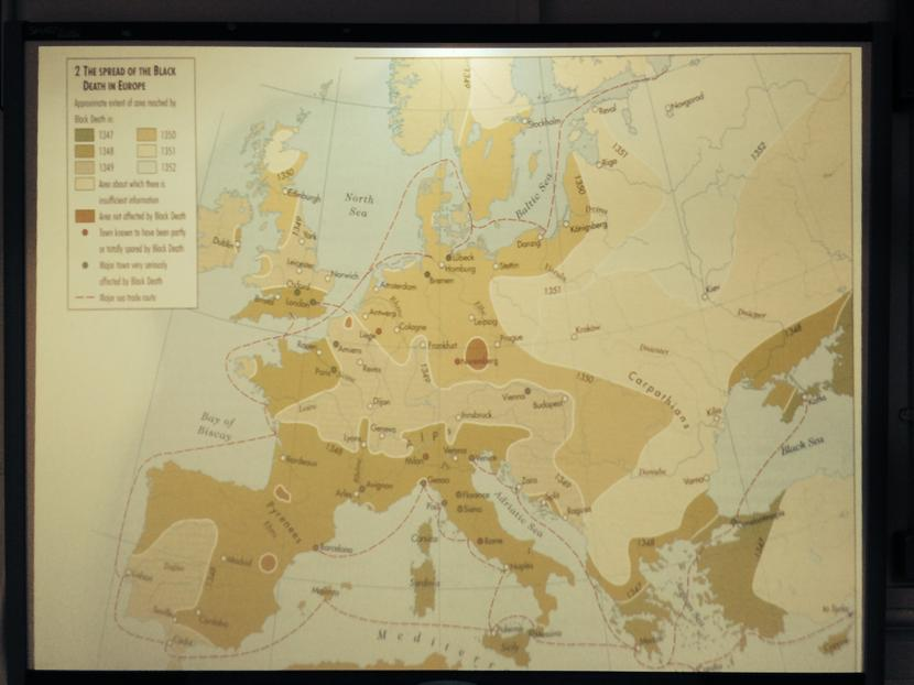 Studying Medieval Trade Routes