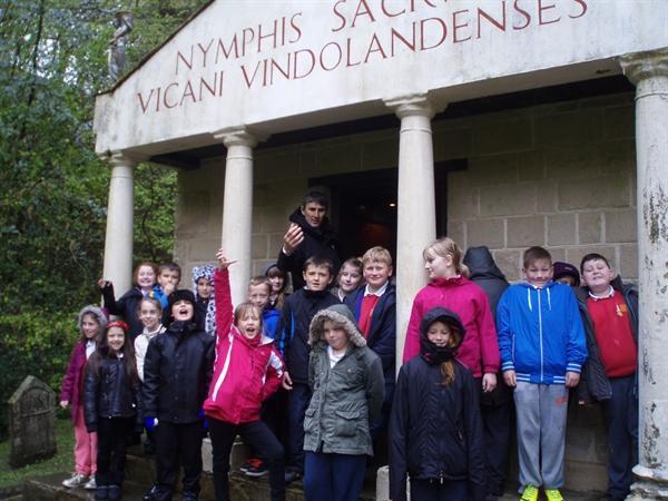Vindolanda temple
