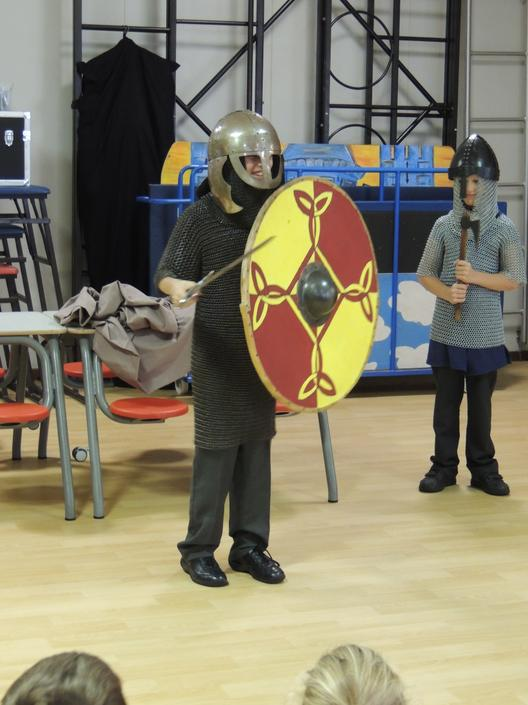 And we dressed a Lion in chain mail armour.