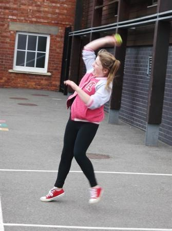 5CR enjoy an athletics lesson