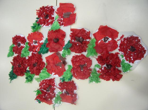 Our Poppy cross