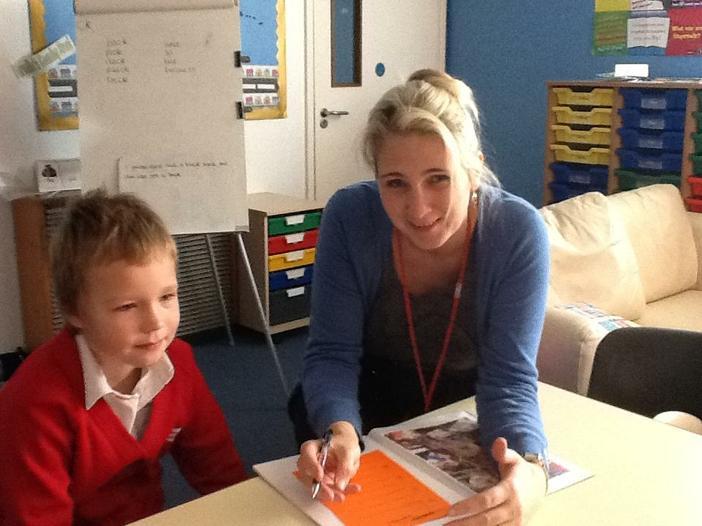 Mrs Kay Ledger- Teaching Assistant