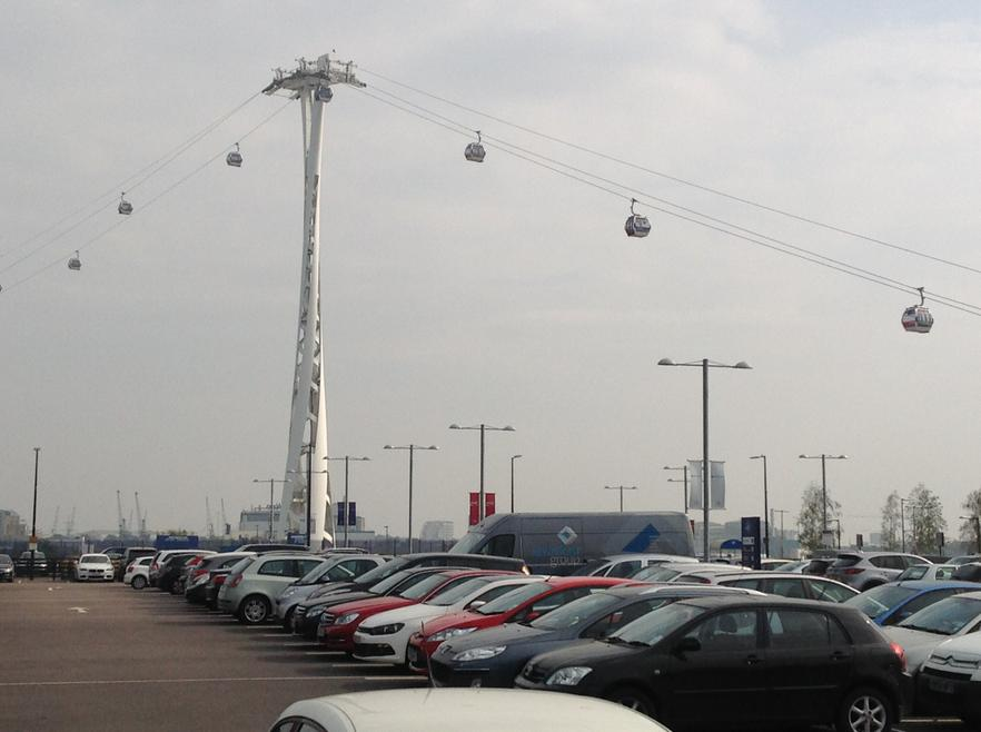 Greenwich cable cars.