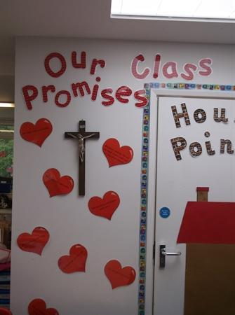 Our promises for a happy class