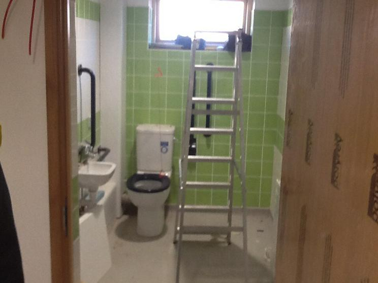 One of the new accessible toilets.