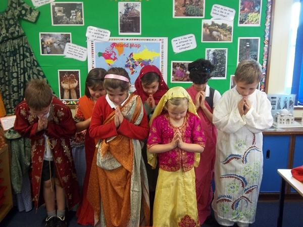 Learning about India