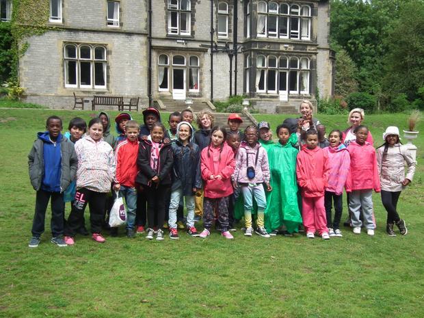 Year 4 visit Castleton