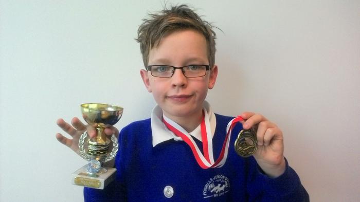 Dylan - 50m fly Age 10 WINNER!