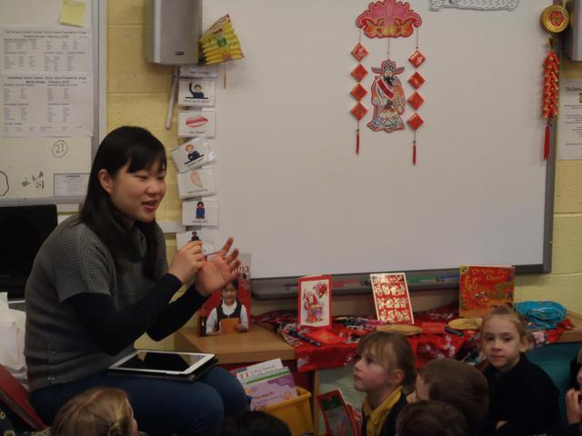 She told us all about Chinese New Year.