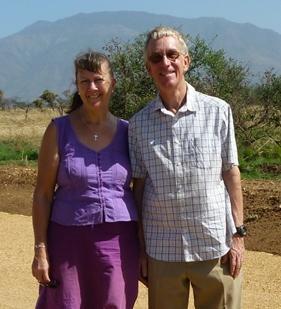 A photo of Ian and Shelagh Baird-Smith