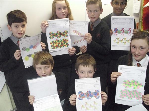 Maths -Tessellation and Congruent Patterns...Wow!!