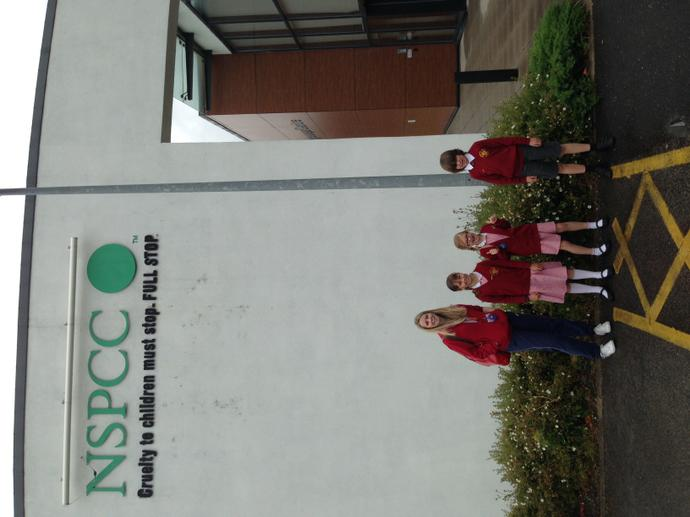 NSPCC Hargreacves Centre visit