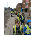 We are on our way to Asda.