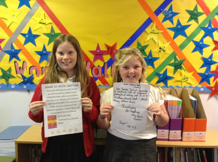 KS2 competition winners (book reviews)