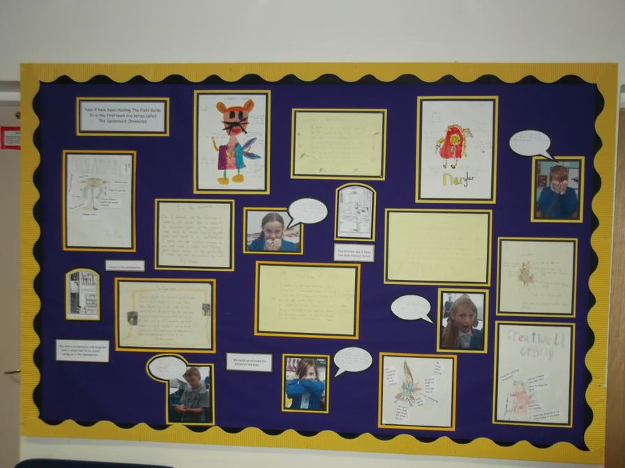 Class 4 Enjoyed Reading The Spiderwick Chronicles