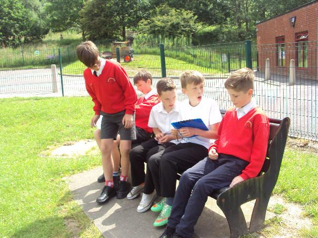 Working out the % of children who can sit down