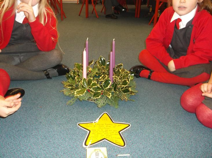 Advent class worship star prayer