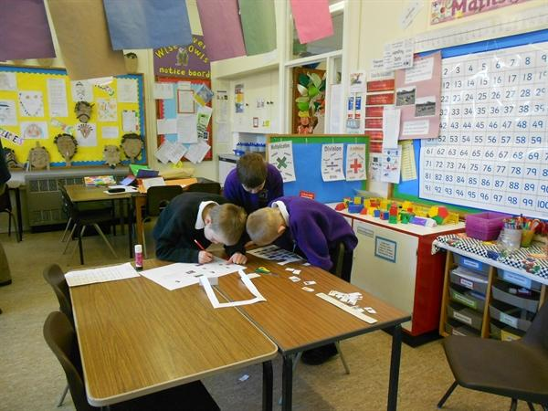 Owls making storyboards to develop characters