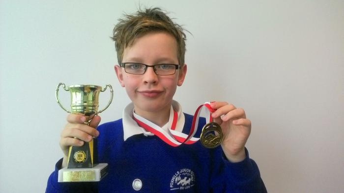 Dylan - 100m individual medley Age 10 WINNER!