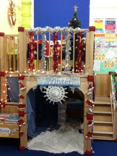 Our Glistening Ice Caves and Santa's Workshops