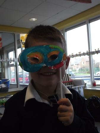 We have been making masks