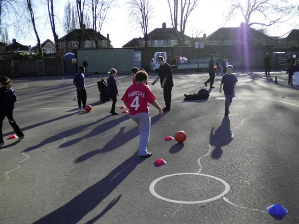 PE with Isleworth and Syon students