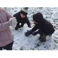 """""""We're stroking the snow upwards!"""""""