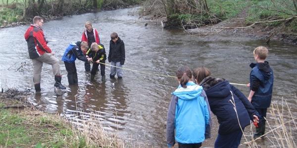 Rydal Rivers Visit (Apr 2014)
