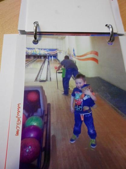 Jofli went bowling. I wonder did he get a strike?