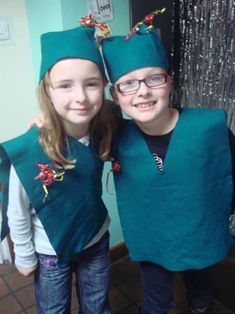 Chloe and Lucy are elves!