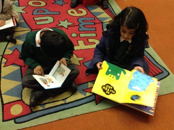 We love reading at English Martyrs'