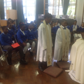 We learnt about ordination.