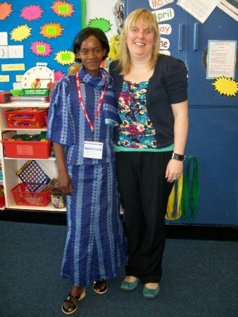 Miss Mwanza has been working with Miss Stuckey.