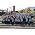 NLS Choir 'Chillax' proir to the big performance