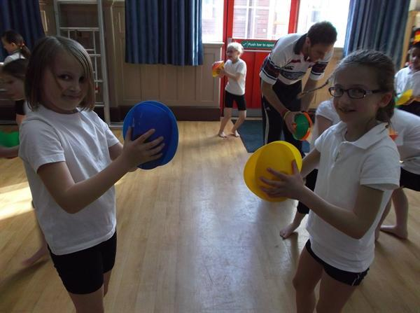 Sport Relief at park!