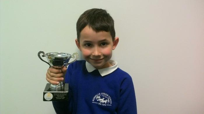 Ben - multi-sports fun day winner!